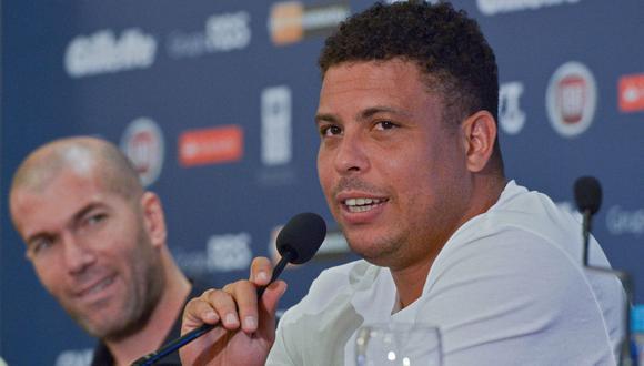 Ronaldo Nazario criticó al Real Madrid por la venta de Achraf Hakimi | Foto: AFP