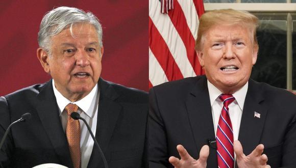 """Trump indicó este martes en un mensaje a la nación que la situación en la frontera con México es una """"crisis creciente"""". (EFE / AFP)."""