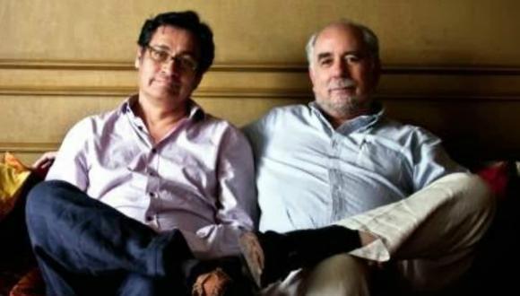 Óscar Ugarteche y Fidel Aroche