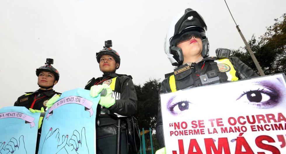#NiUnaMenos: policía participó así en la marcha multitudinaria - 1