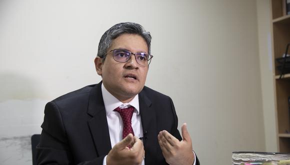 José Domingo Pérez se presentó en la audiencia donde el Poder Judicial revisó el pedido de la defensa de Keiko Fujimori. (Foto: Archivo GEC)
