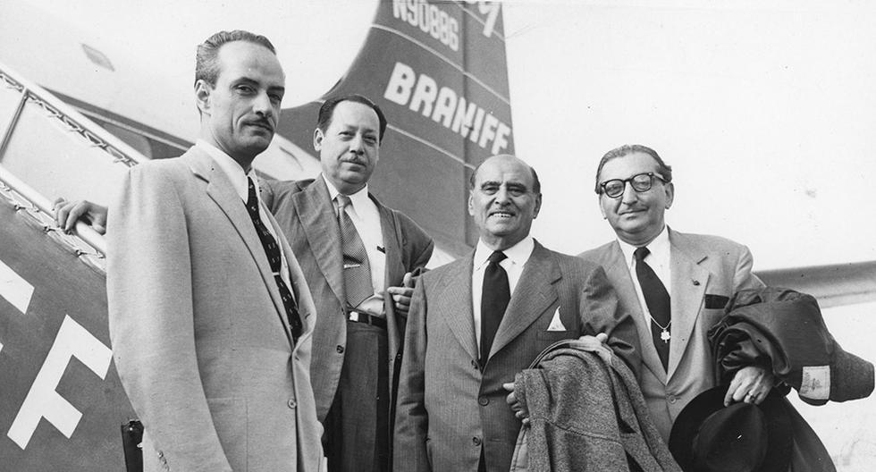 El 22 de setiembre de 1953, los cirujanos Francisco Graña Reyes y Esteban Rocca Costa realizaron una operación neuroquirúrgica empleando instrumentos incaicos de más de 2 mil años. (Foto: GEC Archivo Histórico)