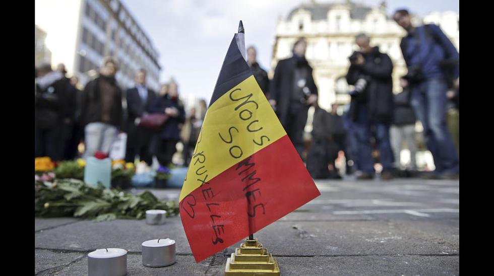 Conmoción en Bruselas por ataques terroristas [FOTOS] - 10