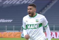 Juventus vs. Sassuolo: Defrel firmó el gol del empate 1-1 en juego por Serie A | VIDEO