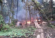 Loreto: destruyen seis laboratorios clandestinos de elaboración de droga