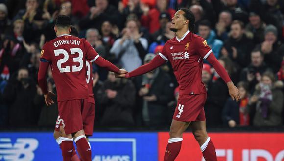Liverpool derrotó 2-1 al Everton en clásico por la FA Cup. (Foto: Agencias)