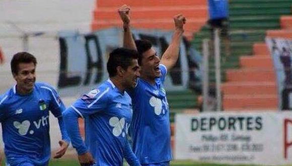 Iván Bulos a un paso de campeonar en el fútbol chileno