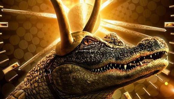 Este caimán es una de las variantes de Loki que se presentaron en el quinto capítulo de la serie. (Foto: Disney)