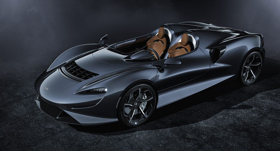La cabina es abierta, de dos plazas, sin parabrisas ni ventanas. (Foto: McLaren Automotive)