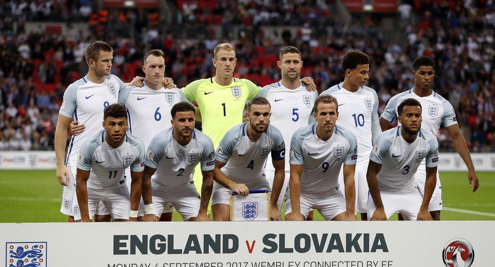 15. Inglaterra - 1056 puntos (Foto: Agencias)