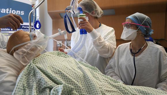 Coronavirus en Francia | Últimas noticias | Último minuto: reporte de infectados y muertos hoy, martes 17 de noviembre del 2020. (Foto: FREDERICK FLORIN / AFP).