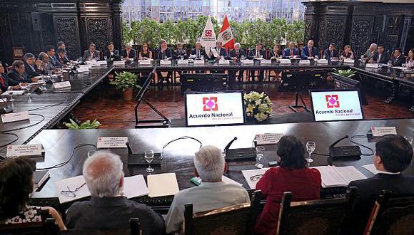 Acuerdo Nacional discutió medidas contra inseguridad [CLAVES]