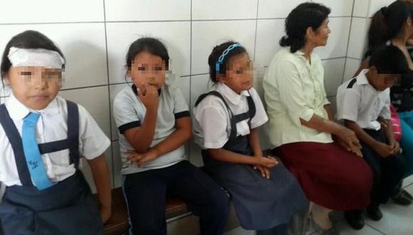 Minsa investiga posibles causas de intoxicación de 85 escolares