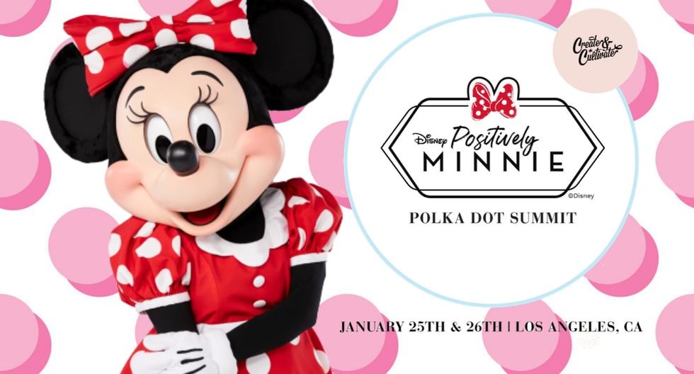 La cumbre inspirada en Minnie Mouse, icónico personaje de Disney, se llevó a cabo el pasado 25 y 26 de enero en Los Ángeles, California. (Foto: Difusión)
