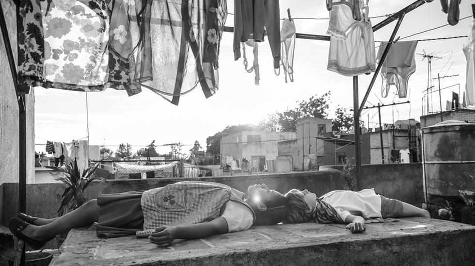 """""""Roma"""" de Alfonso Cuarón en el 2018. (Foto: Difusión)."""