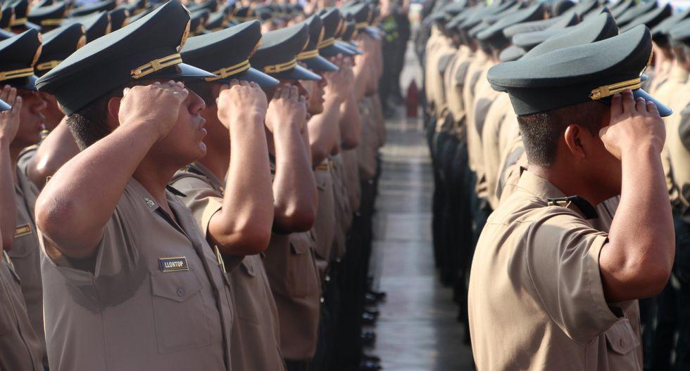 Ministros Carlos Morán anunció que se aprobó el Decreto de Urgencia para expulsar a los malos policías. (Foto: GEC)