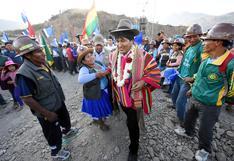 Campesinos bolivianos anuncian bloqueo indefinido de carreteras en apoyo a Evo Morales