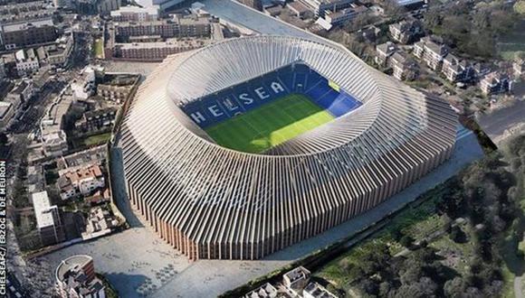 El nuevo Stamford Bridge será el estadio mas caro de toda Europa. (Foto: ChelseaFC/ Herzog & de Meuron)