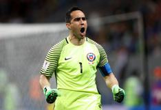 Claudio Bravo: su emocionante arenga antes de la tanda de penales ante Portugal
