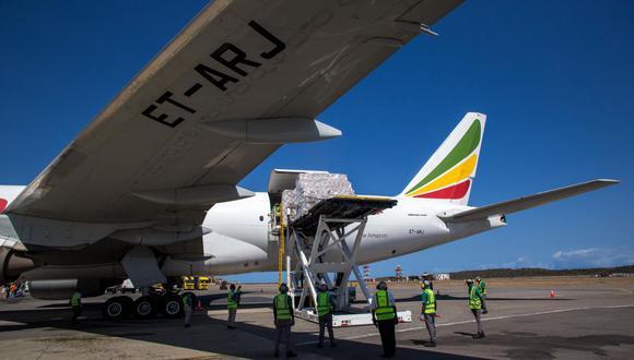 Venezuela autorizó desde este lunes los vuelos comerciales desde y hacia Bolivia y Rusia. (Foto: Cristian Hernandez / AFP).