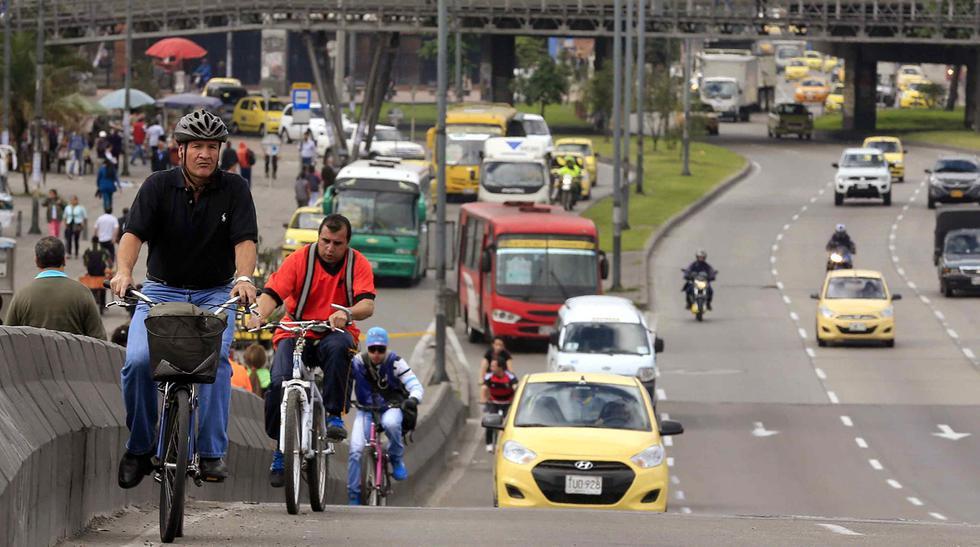 Bogotá vive un día sin autos ni motos en sus calles - 9