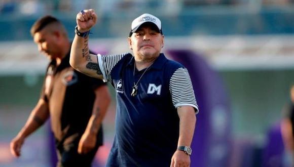 Diego Maradona cumplió 60 años el pasado 30 de octubre. (Foto: AFP)