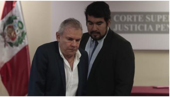"""Kabsther explicó que aún """"falta confirmar el trámite del pago de la caución económica"""" por parte de la familia de Castañeda Lossio para que este deje la prisión e inicie su arresto domiciliario. (Foto: GEC)"""