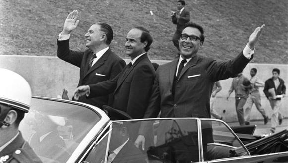 El primer tramo de la Vía Expresa fue inaugurado en 1967, durante el primer gobierno de Fernando Belaunde (Archivo Histórico El Comercio)