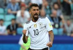Alemania vs. Camerún: el golazo al ángulo de Demirbay tras lujoso pase de taco de Draxler