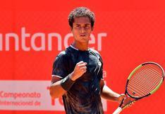 """Juan Pablo Varillas: """"Roland Garros es el Grand Slam que más quería jugar"""""""