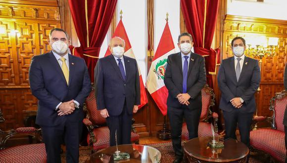 El Congreso le negó la confianza al gabinete de Pedro Cateriano este Martes. (Foto: PCM)
