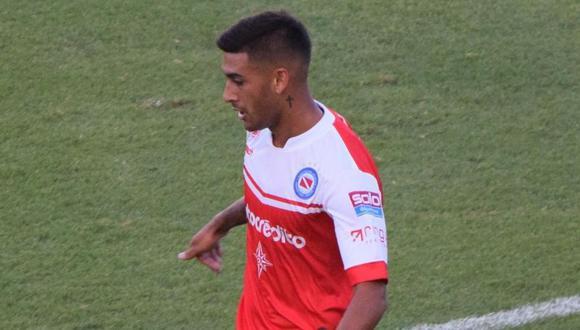 Franco Moyano fue el autor del 1-0 en el Defensa y Justicia vs. Argentinos Juniors por la Superliga argentina (Foto: agencias)