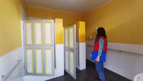 Se instalarán módulos de lavaderos en los ingresos o patios de los colegios. (Foto: Andina)