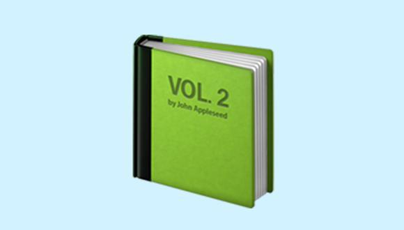 Conoce qué es lo que significa el libro verde en WhatsApp y cuándo debes usarlo con tus amigos. (Foto: Emojipedia)
