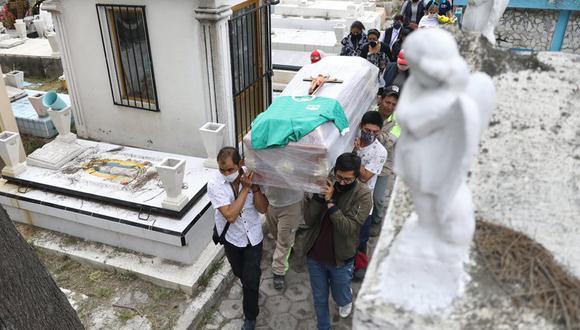 México registró 127.757 fallecidos por coronavirus en total. (Foto: EFE)