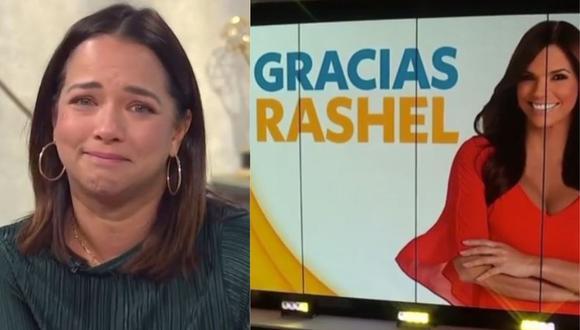 """""""Un Nuevo Día"""": Adamari López se despide de Rashel Díaz entre lágrimas. (Foto: captura de video)"""