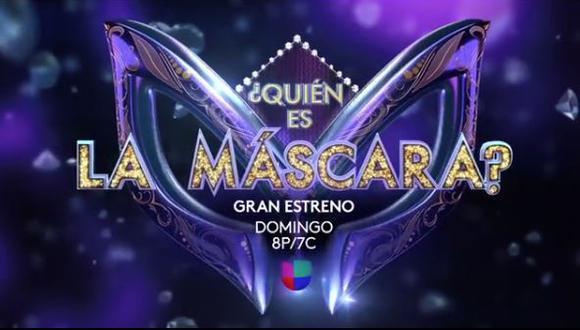 """Univision transmitirá en EE.UU. la versión mexicana de """"¿Quién es la máscara?"""" (Foto: @univision)"""