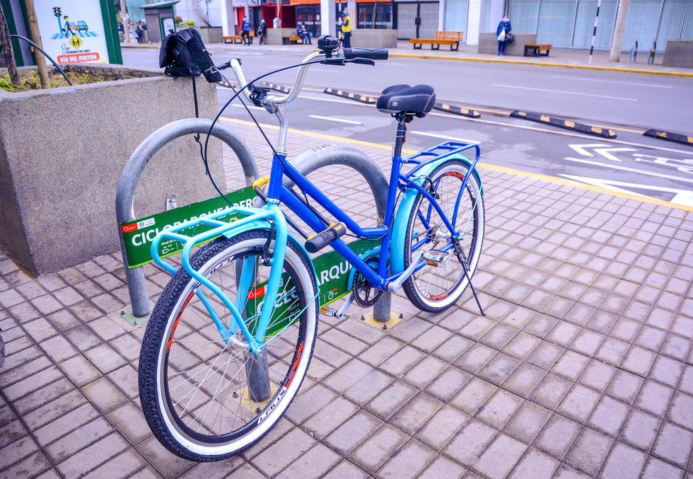 El diseño de la bicicleta peruana tiene capacidad para soportar 130 kg de peso.