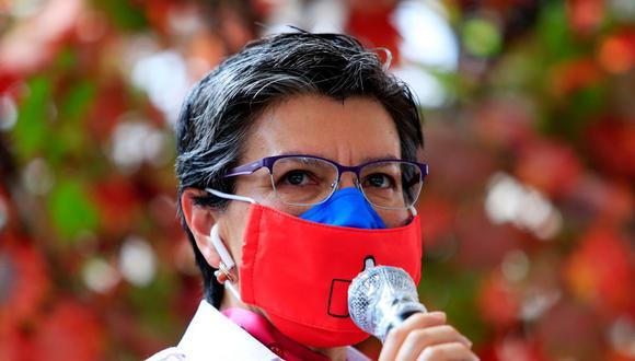 La alcaldesa de Bogotá, Claudia López, habló sobre la muerte de Javier Ordóñez en sus redes sociales. (Foto: AFP)