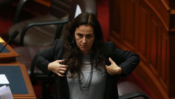 La ministra Patricia García