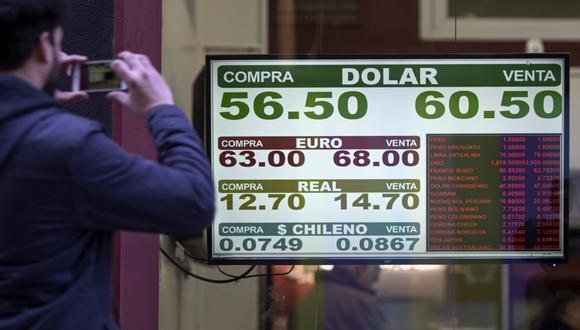 """El opositor Alberto Fernández dijo el miércoles que el dólar a 60 pesos es """"razonable"""". (Foto: AFP)"""