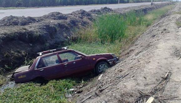 La Libertad: un muerto y seis heridos dejó choque de vehículos