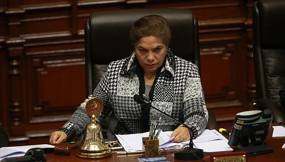 """Luz Salgado: """"El Congreso no ha sabido comunicar bien"""""""