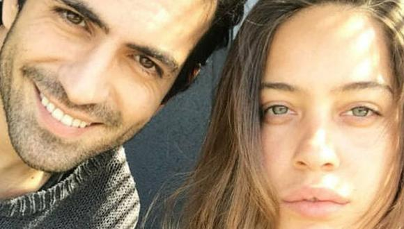 Bugra Gülsoy y su amada esposa. (Foto: @gurbuznilufer / Instagram)