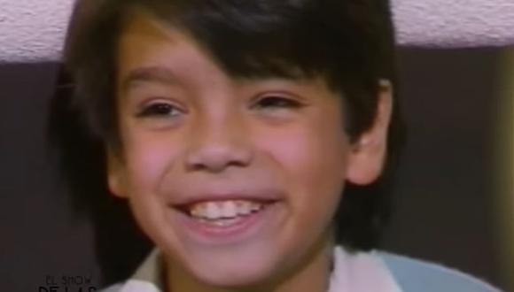 Pablo Guerra era el niño travieso de la clase. Su risa es muy característica (Foto: Televisa)