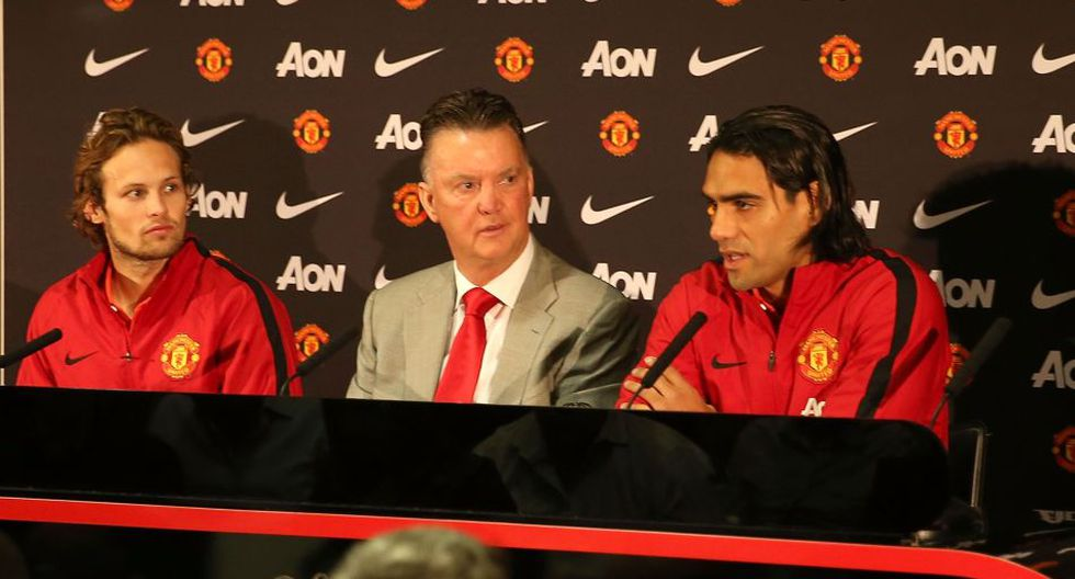 Radamel Falcao entrenó y fue presentado en el Manchester United - 13