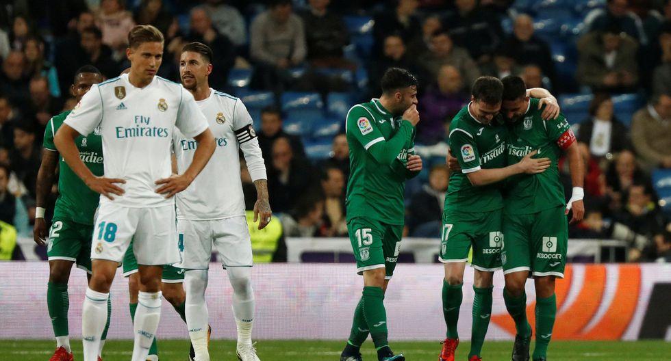 Real Madrid se mide ante el Leganés este miércoles (3:30 pm. EN VIVO EN DIRECTO por DirecTV) por los cuartos de final de la Copa del Rey. (Foto: Reuters)