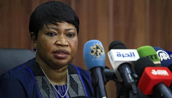 Fatou Bensouda, fiscal jefe de la Corte Penal Internacional (CPI). (Foto de ASHRAF SHAZLY / AFP).