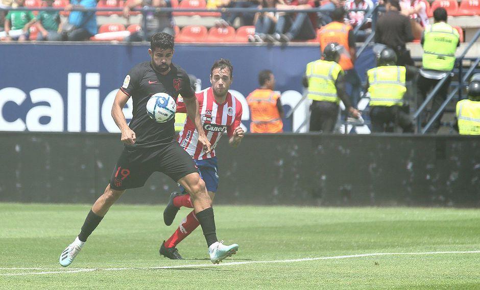 Atlético de Madrid vs. Atlético San Luis EN VIVO EN DIRECTO: el equipo de Simeone juega amistoso en México, el último de la gira por América. (Foto: @Atleti)