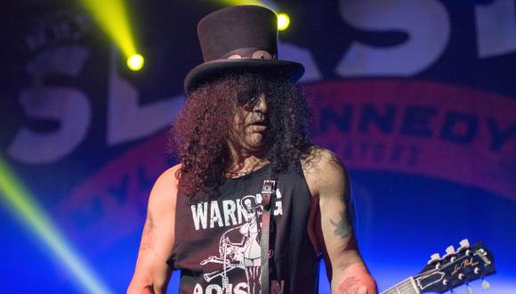 Slash dejó abierta la posibilidad de reunirse con Guns N'Roses